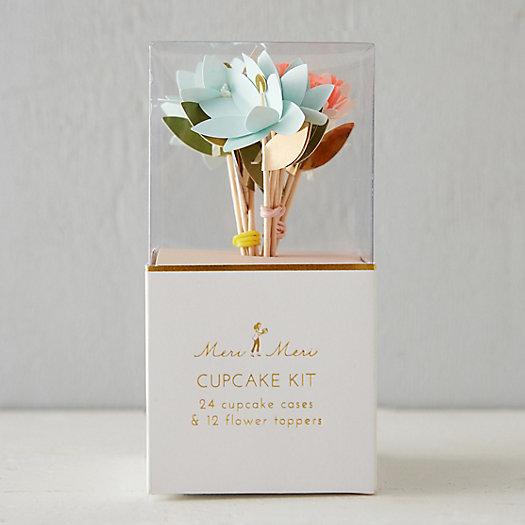 View larger image of Floral Cupcake Decorating Kit