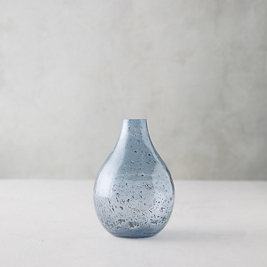 View larger image of Speckled Glass Oval Vase
