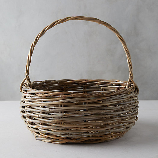 View larger image of Rattan Handled Basket