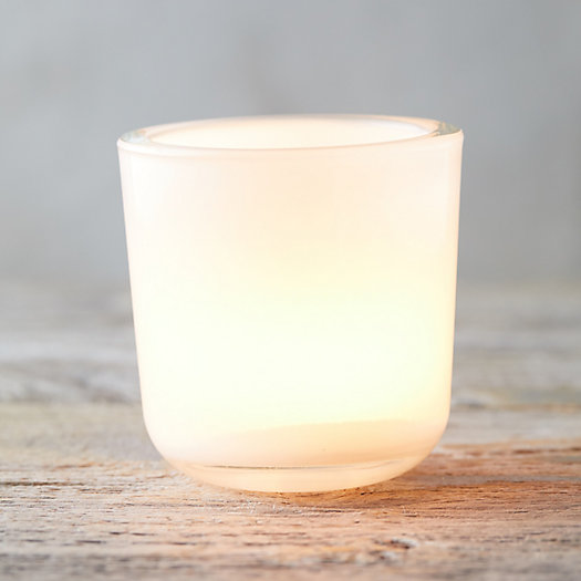 View larger image of Colored Glass Tea Light Holder