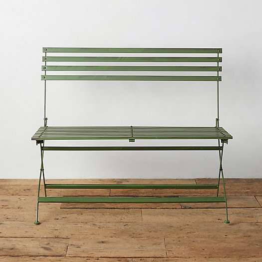 View larger image of Myrtle Iron Bench