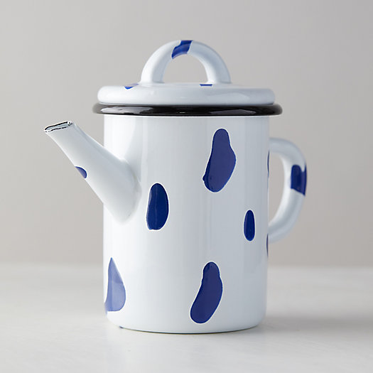 View larger image of Color Burst Enamel Teapot