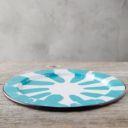 View larger image of Color Burst Enamel Charger