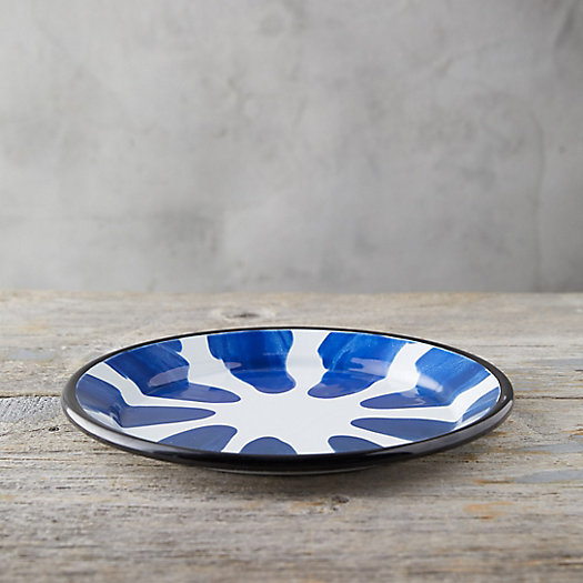 View larger image of Color Burst Enamel Dinner Plate
