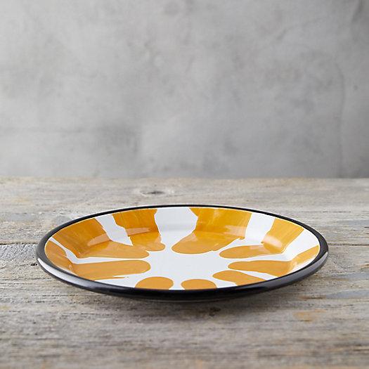 View larger image of Color Burst Enamel Dinner Plate