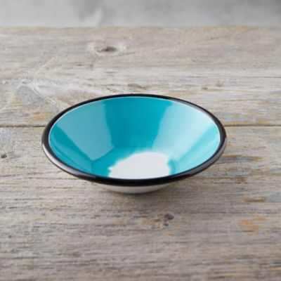 Color Burst Enamel Soup Bowl