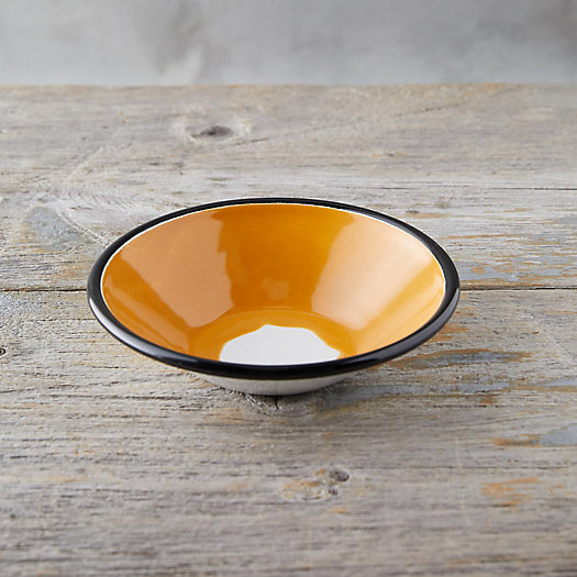 View larger image of Color Burst Enamel Soup Bowl