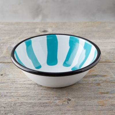 Color Burst Enamel Salad Bowl