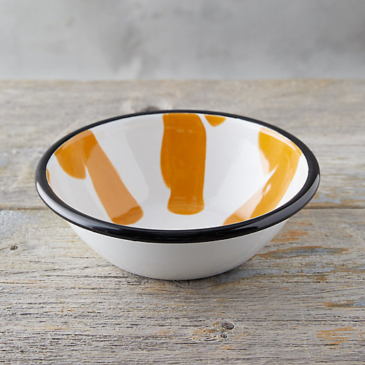 View larger image of Color Burst Enamel Salad Bowl