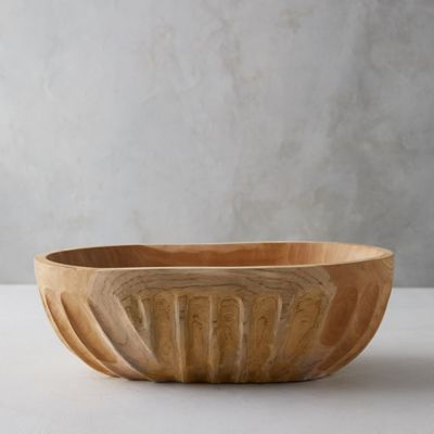 Teak Root Serving Bowl, Large