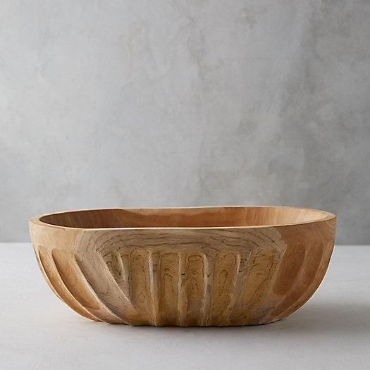 View larger image of Teak Root Serving Bowl, Large