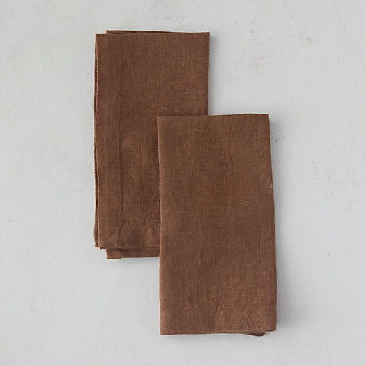 View larger image of Lithuanian Linen Napkins, Set of 2