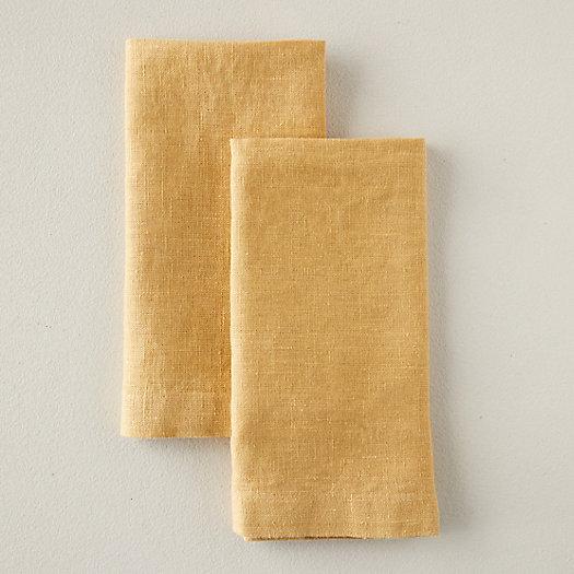 View larger image of Lithuanian Linen Napkin Set