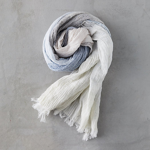 View larger image of Gray Colorblock Scarf