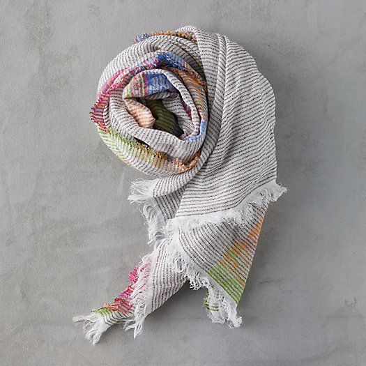 View larger image of Floral Edge Scarf