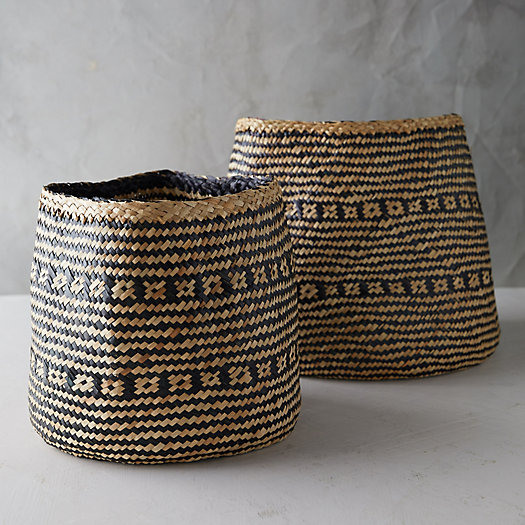 View larger image of Stripe Seagrass Basket