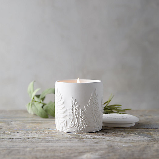 View larger image of Cottage Greenhouse Candle, Rosemary + Mint