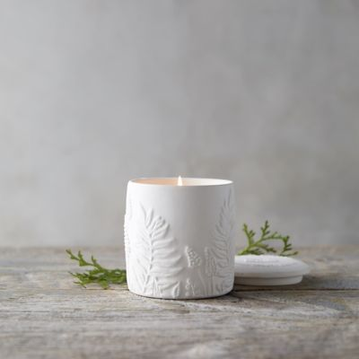 Cottage Greenhouse Candle, Cedar + Sweet Orange