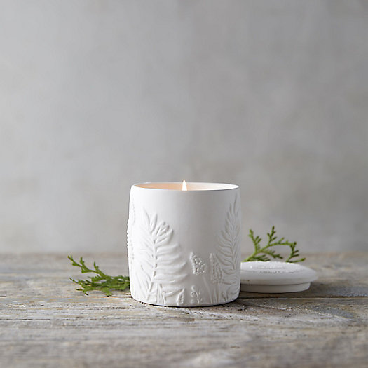 View larger image of Cottage Greenhouse Candle, Cedar + Sweet Orange