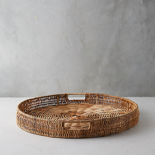 View larger image of Wicker Serving Tray