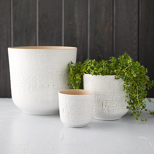 View larger image of Textured Earthenware Pot