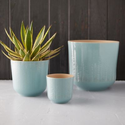 Herringbone Pot