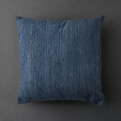 Midnight Blue Outdoor Pillow