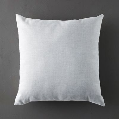 Dusky Silver Outdoor Pillow