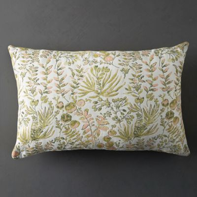 Wild Botanical Outdoor Pillow