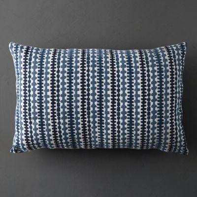 Zippy Stripe Outdoor Pillow