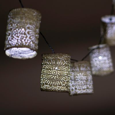 Solar Lantern Light String