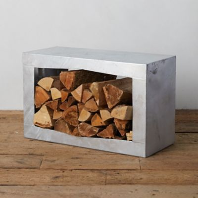 Square Steel Log Holder