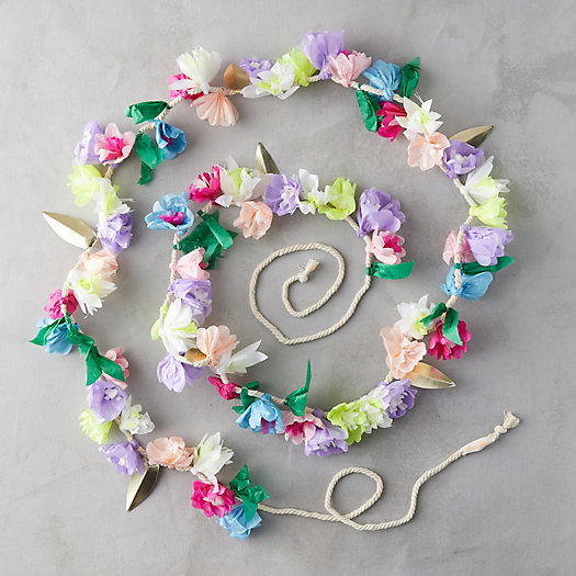 View larger image of Floral Paper Garland