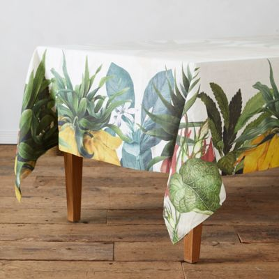 Botanical Floral Tablecloth