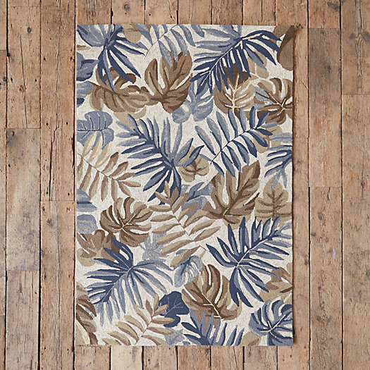 View larger image of Natural Palm Leaf Rug