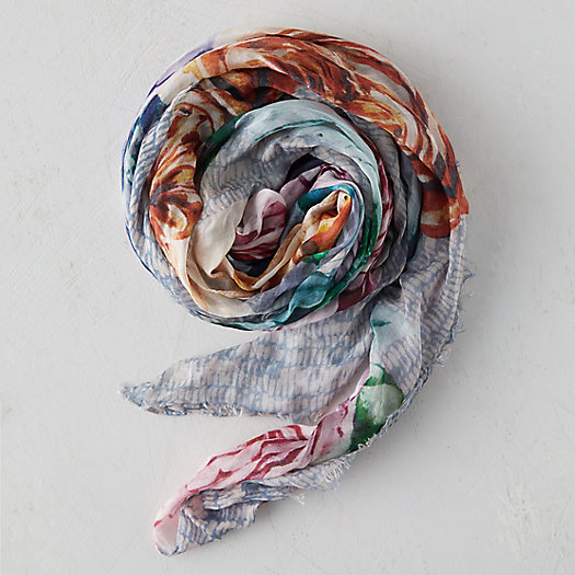 View larger image of Floral Bouquets Scarf
