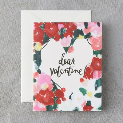 Poppy Dear Valentine Card