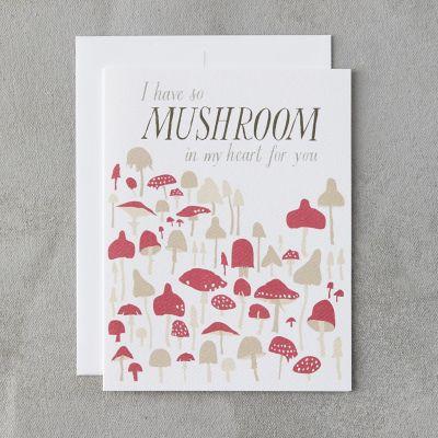 So Mushroom Card
