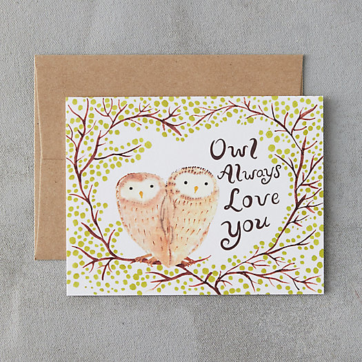 View larger image of Owl Always Love You Card