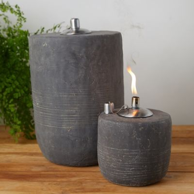 Fiber Concrete Oil Burner