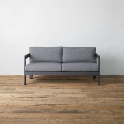 Highline Aluminum Two Seat Sofa