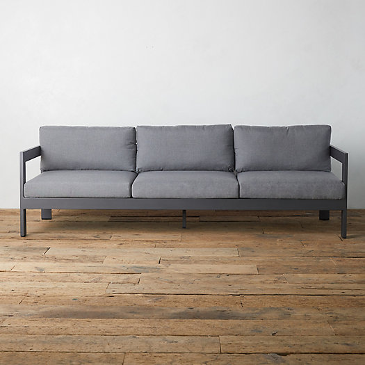 View larger image of Highline Aluminum Three Seat Sofa