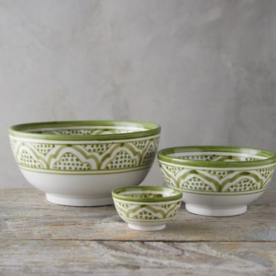 Moroccan Earthenware Bowl