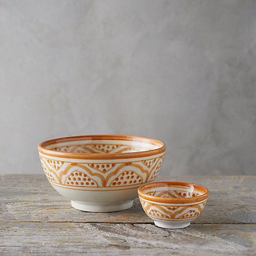 View larger image of Moroccan Earthenware Bowl