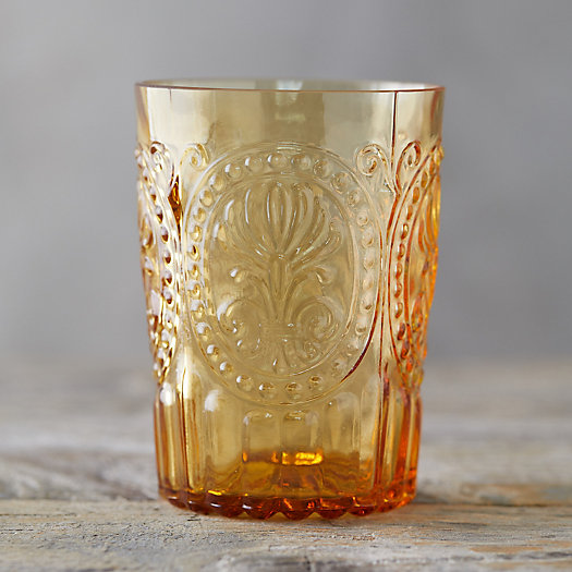 View larger image of Fleur de Lys Glass Tumbler
