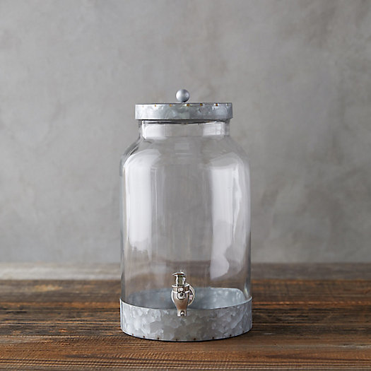View larger image of Galvanized Metal Beverage Dispenser