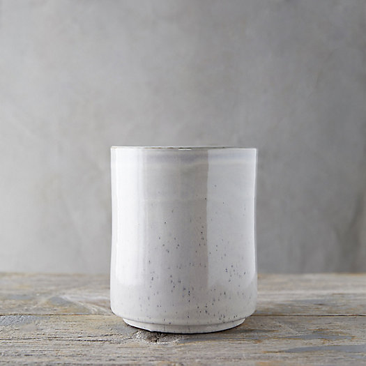 View larger image of Speckled Ceramic Utensil Holder