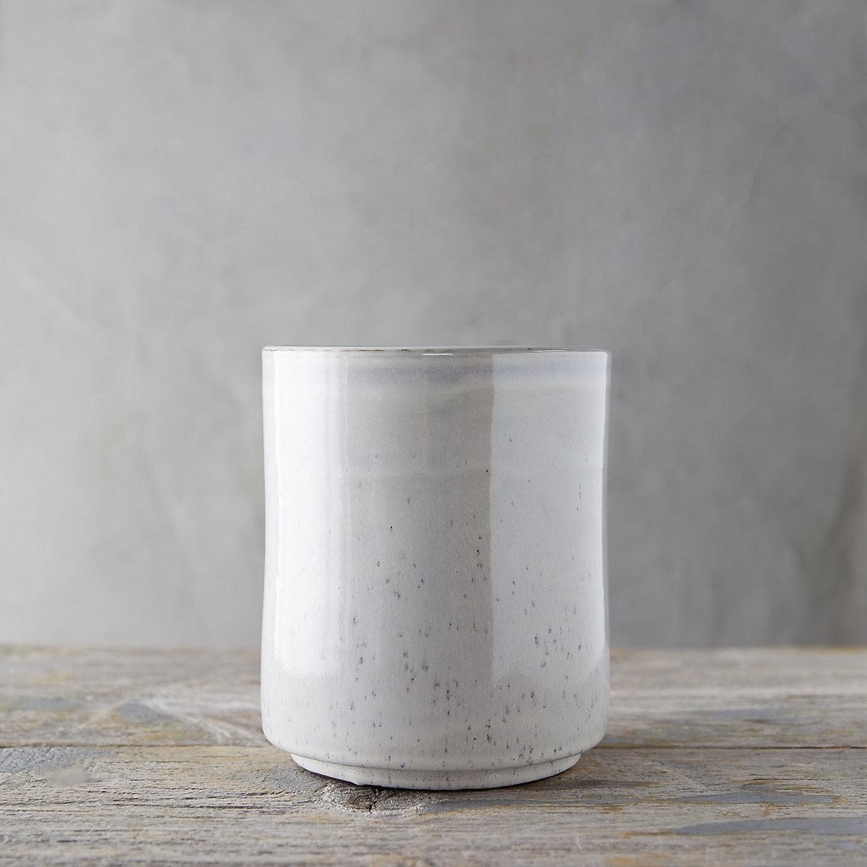 Speckled Ceramic Utensil Holder Terrain
