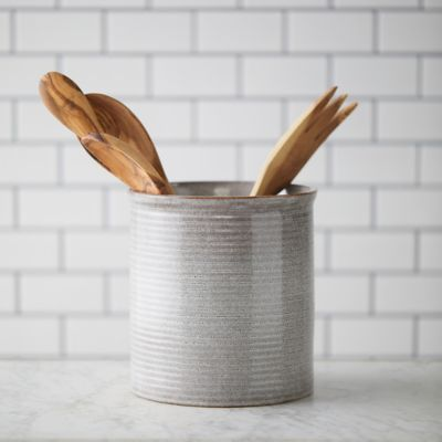 Stoneware Utensil Holder