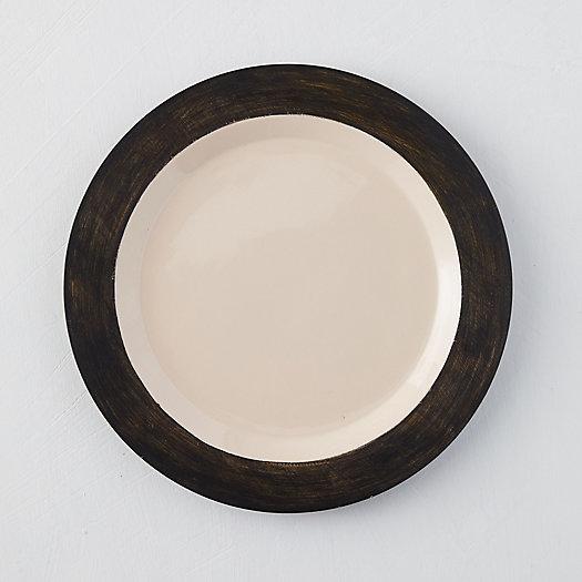 View larger image of Mango Wood + Enamel Plate